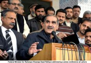 Imran Khan get ready to face the music : Khawaja Saad Rafiq