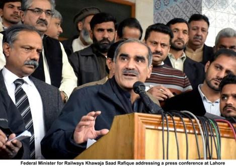 Imran Khan get ready to face the music : Khawaja Saad Rafiq