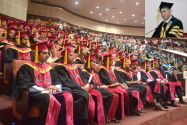 General Sadiq Ali awards degrees and medals to the graduating students
