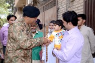 Corps Commander Lahore reviews the ongoing progress of census