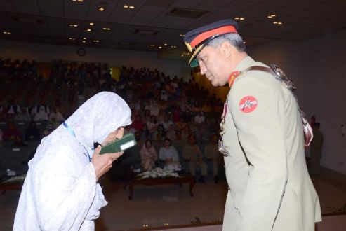 Corps Commander Lahore conferred military awards to Army personnel
