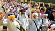 1300 Sikh yatrees from India arrived in Lahore