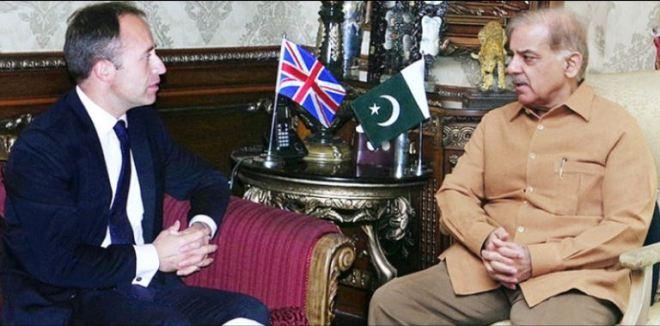 British High Commissioner Thomas Drew calls on Punjab Chief Minister