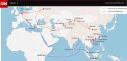 """""""One Belt, One Road"""" stretching from eastern China to London"""