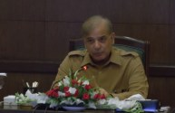 Shahbaz Sharif reviews the progress made on Safe City Project