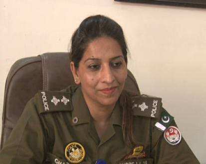 A lady officer posted as SHO after 19 years