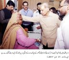 CM visit to District Headquarters Hospital, Kasur