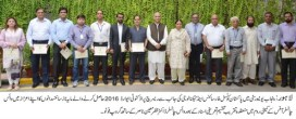 Punjab University honoured the scientists