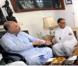Shahbaz Sharif condoles Senator Mushahid Hussain