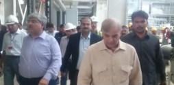 Shahbaz Sharif inspected power plant in Haveli Bahadar Shah