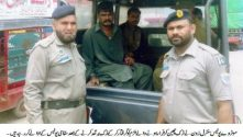 Motorway Police arrest a thief with stolen truck