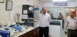 Secretary Punjab Blood Transfusion Authority, Dr. Muhammad Athar visited various blood banks