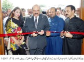 Chief Secretary Capt (R) Zahid Saeed inaugurates a medical camp at Civil Secretariat