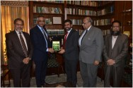 ICMA delegation calls on Governor Sindh Muhammad Zubair