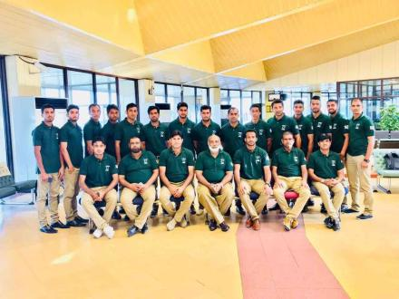 Pakistan hockey team leaves for Asia Cup
