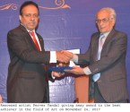 Prof. Pervaiz Vandal Award 2017 ceremony held