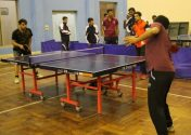 PU defeats UMT in Table Tennis and Badminton matches