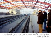 Shahbaz Sharif visited Orange Line Metro Train project