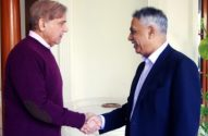 Governor Sindh called on Chief Minister Punjab Shahbaz Sharif