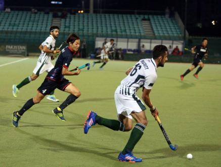 Pakistan draw 2-2 with Japan in tri nation hockey