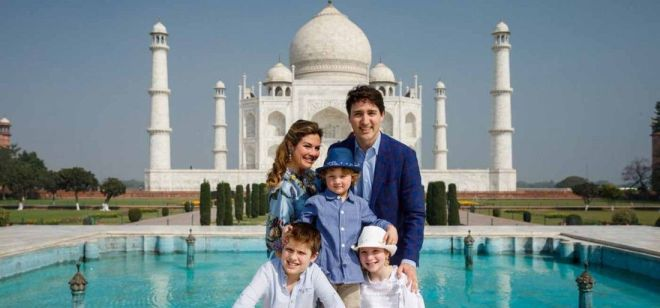 Justin Trudeau visit to India