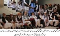 Maulana Fazlur Rehman elected as president MMA