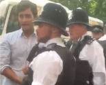 London police arrest Junaid Safdar on punching a protester