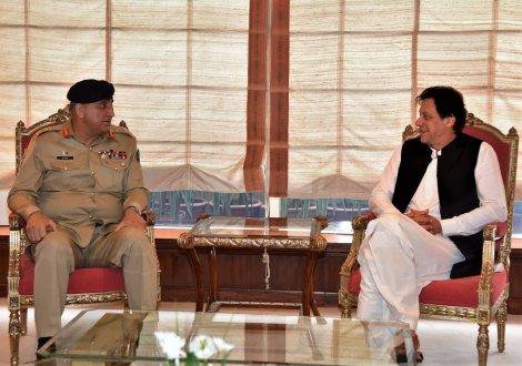 Prime Minister Imran Khan visited ISI HQ