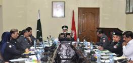 IG Dr Mujib ur Rehman chairs SP-Railway conference