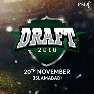Pakistan Super League Player Draft 2018 will be on Tuesday
