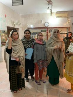 First Lady Bushra Bibi visit to Fountain House
