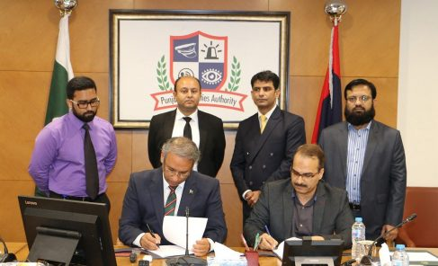 PSCA sign accord with banks for E-Challan fines