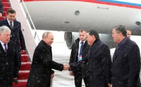 Russian President Vladimir Putin arrived in Astana