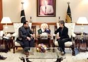 Australian Envoy calls on Punjab Chief Minister Usman Buzdar