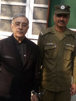 Naulakha police arrested Kh Azhar Gulshan