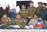 Cantt Division police recover child abducted for ransom
