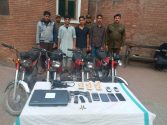CIA City Police arrest 4 young dacoits