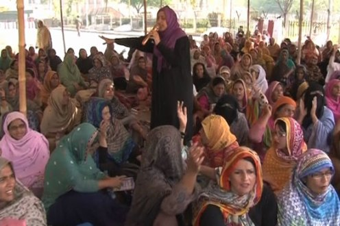 Lady Health Workers end their sit-in