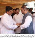 Aleem Khan visit Ajasam Sharif residence for condolence