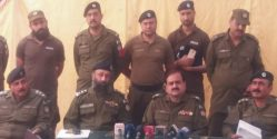 AVLS arrest 5 members of Taju Gang ,recovers 23 cars
