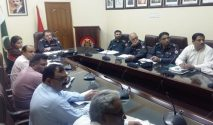 DIG Shariq Jamal Khan reviews security of CPEC & ML-1 Program