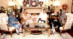 Maryam Nawaz express  solidarity with Kh Saad family