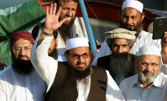 Hafiz Saeed booked in cases of terrorism financing