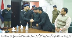 CCPO Lahore summons martyr's cop family for condolence