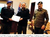CCPO honoured a cop on killing a decoit