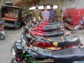 AVLS Civil Lines arrest motorcycle lifter gang