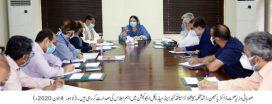 Dr. Yasmin Rashid reviews facilities for COVID-19 patients