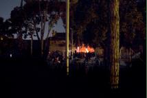 El Ayuntamiento corta el suministro de luz en un concierto en el ateneo libertario de Sant Boi, 2014.