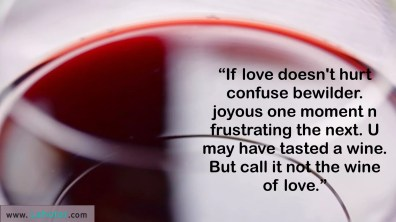 If love doesn't hurt…