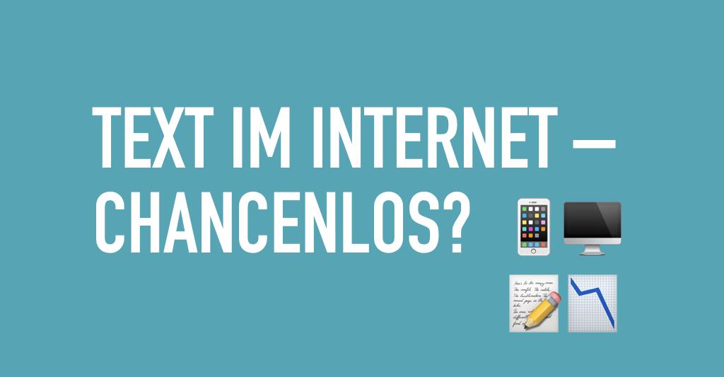 Texte im Internet